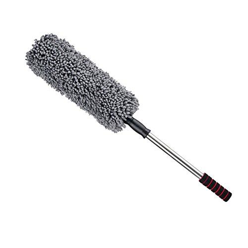 Alftek Auto Auto Microfiber Retractable Wax Mop Reinigungsbürste Runde Duster Abstauben Werkzeug