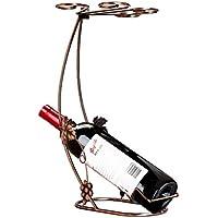 LOSKDMMJIO Weinregal-Kreatives Rotweinglas Regal Wein Regal Wein Becher Wein Regal,A