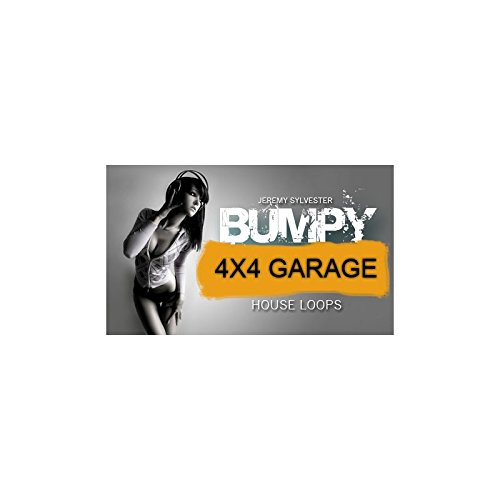 Bumpy 4x4 House Loops - Phat collection of 50 high quality choice drum loops for UKG, 4x4 and Underground House music production. It includes 280MB of 24 Bit WAV, REX2 & APPLE LOOPS format files.