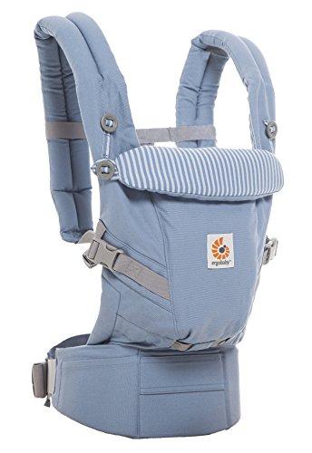 Ergobaby Babytrage Kollektion Adapt (3,2 – 20 kg), Azure Blue