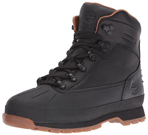 Timberland Euro Hiker Shell Toe chaussures d'hiver Noir