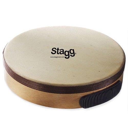 Stagg TAWH-100 - Pandereta de madera color marrón