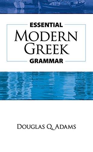 Essential Modern Greek Grammar (Dover Language Guides Essential Grammar) por Douglas Q. Adams