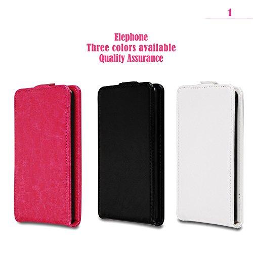Prevoa ® 丨 Flip PU Tasche Case Cover Hülle für Elephone P6000 5.0
