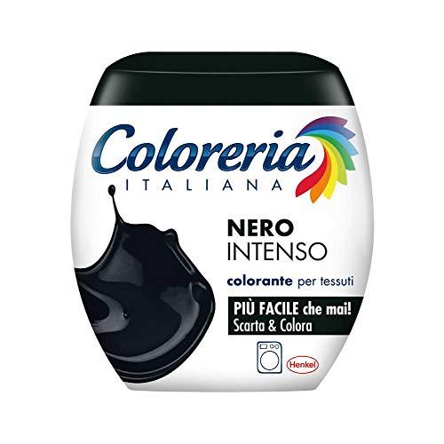 Grey colorante per tessuti in lavatrice, nero intenso, 350 gr