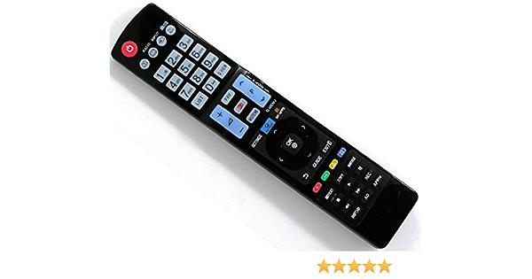 Ersatz Fernbedienung passend für LG AKB69680403 LCD LED TV Remote NEU 42LH3000