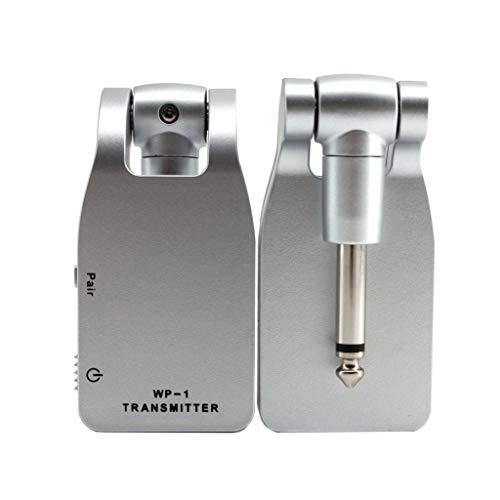 Musikinstrument,TwoCC System Sender 2.4GWireless Gitarre & Empfänger Wiederaufladbar Batterie 30M Reichweite -