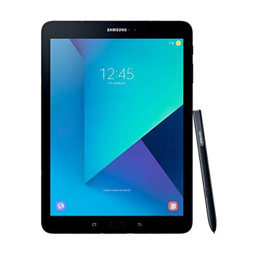 """Samsung Galaxy Tab S3 - Tablet de 9.7"""" 2K (WiFi, Procesador Quad-Core Snapdragon 820, 4 GB de RAM, 32 GB de almacenamiento, Android 7.0); Negro + S Pen incluido [España]"""