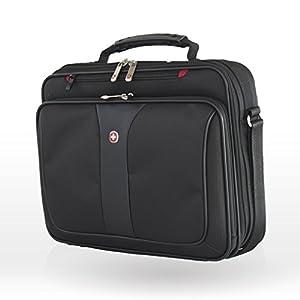 "417Recrz9 L. SS300  - Wenger/SwissGear Notebook Case Impulse maletines para portátil 39,1 cm (15.4"") Bandolera Negro - Funda (Bandolera, 39,1 cm (15.4""), Negro)"