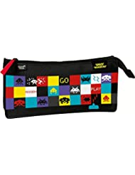 Quo Vadis - Space Invaders - Fourre-Tout Rectangulaire - 23,5x11,5 cm