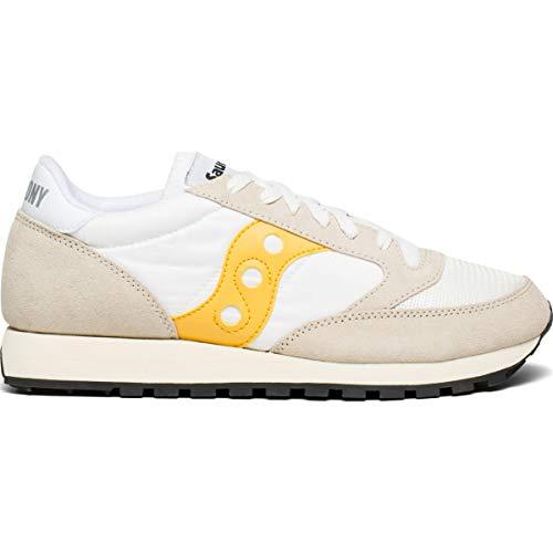 Saucony Jazz Original Vintage Unisex Sneaker Cement/Yellow 8299 41 -