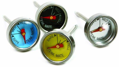 Norpro Mini Steak Thermometer, Mehrfarbig