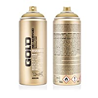 Montana Cans 369759 Spray Paint M3010 Gold Matt 400ml