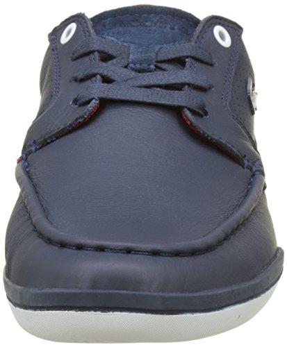 Lacoste Deck-minimal, Sneaker Uomo Blu (nvy / Blanc)