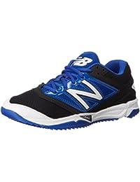 New Balance hombres del césped t4040V3béisbol zapatos, color negro, talla 40 EU