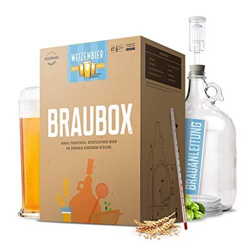 Braubox®, Sorte Weizenbier ● Bierbrauset zum Bier brauen in der Küche ● mit Erfolgsgarantie von Besserbrauer