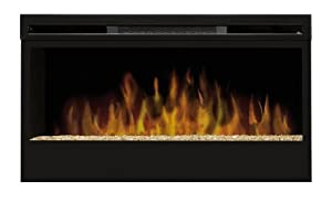 Dimplex Belford Wall Mounted Electric Fire 1.2kW Optiflame Log Effect Heater