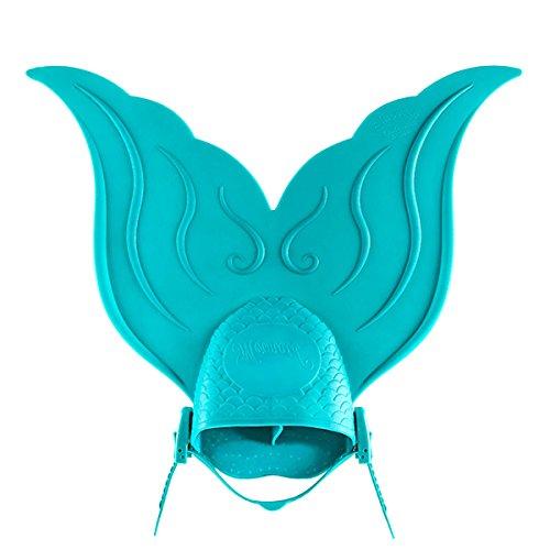 AMERICANSTAR Einstellbare Schwimmtraining Flossen Mono Mermaid Tails Swim Flossen, Monoflosse Training Flipper Tauchflossen für Kinder