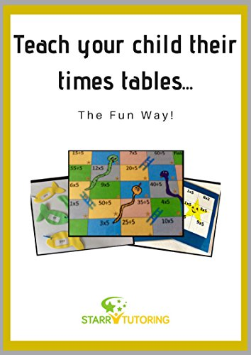 Successfully teach your child their times tables...: The fun way! (English Edition)