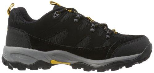 Brütting Mount Hunter, Chaussures Bébé marche mixte adulte Noir (noir/jaune)