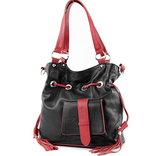 9094cb28684 modamoda de - sac à bandoulière sac à main en cuir