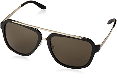 Carrera Herren 97/S 70 TJK Sonnenbrille, Schwarz (Black Gold/Brown), 57