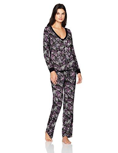 Maidenform donna Organic Architecture Pj Set  set pigiama Dark Floral