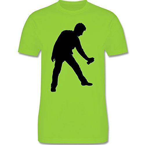 Handwerk - Lackierer - Herren Premium T-Shirt Hellgrün