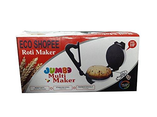 Eco Shopee Jumbo Big Size Special Electric Multi Maker / Roti Maker (10 Inch) 1000 W