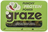 Graze Punchy Protein Power 41g (Pack of 9) - Chilli and Lime Roasted Nuts