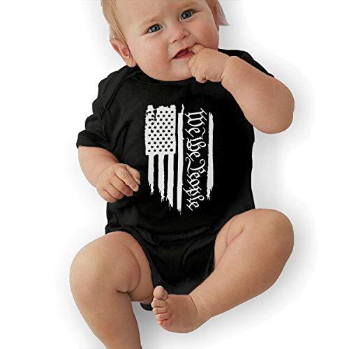 IconSymbol American Flag We The People Baby Organic Pajamas Organic Bodysuits