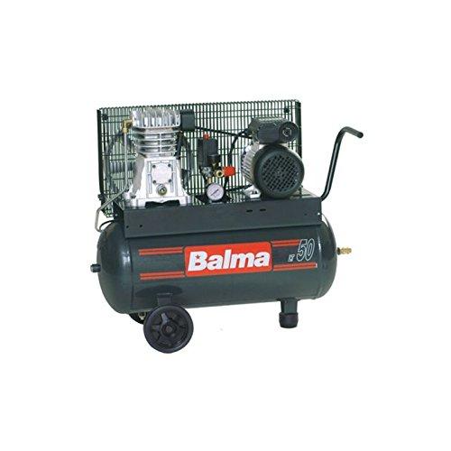 Compressore a Cinghia Monostadio Professionale NS12S/50 CM2 HP2 Balma Lt.50