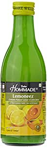 Dabur Hommade Lemoneez (Natural Lemon and Lime Concentrate), 250ml