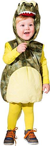 Krokodil Kostüm Weste für Kinder - Gr. 104 - Süße Verkleidung als Alligator, Echse, Dino, Saurier oder Drache zur Fasching, Mottoparty oder - Alligator Kostüm