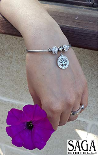 Zoom IMG-1 saga gioielli bracciale albero della