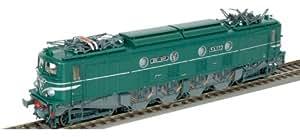 Roco - R62477 - Modélisme Ferroviaire - Locomotive Electrique 2D2 9107 GRG SNCF HO