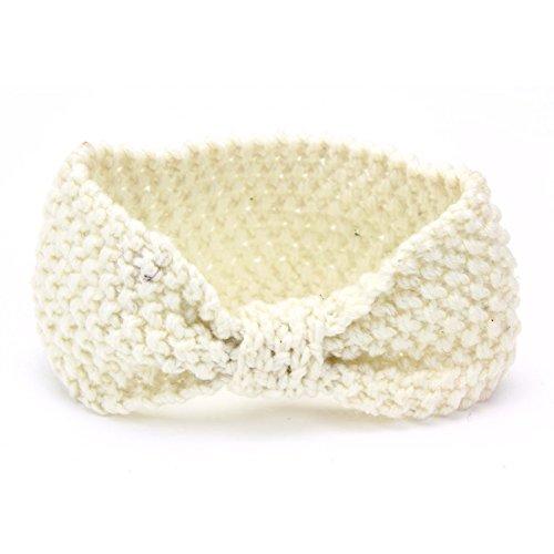 Timeracing Fashion Baby Kinder Kleinkind Mädchen Haar-Schleife Crochet hergestellt.