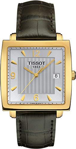 Tissot Sculpture Line 18 KT T71.3.623.64 Reloj de Pulsera para Hombres