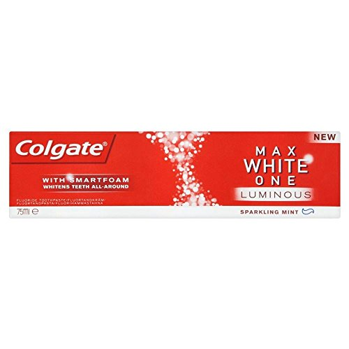 Colgate Max White One Luminous Zahnpasta (75 ml) - Packung mit 6 (Gel-zahnpasta Colgate)