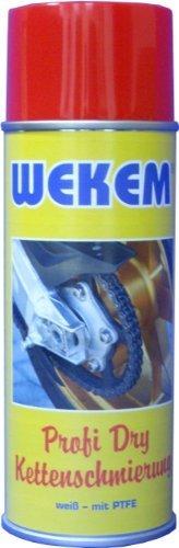 3x 400ml Wekem Kettenspray Kettenfett PTFE Teflon WS667