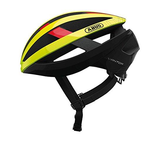 Abus Viantor Fahrradhelm, neon Yellow, L