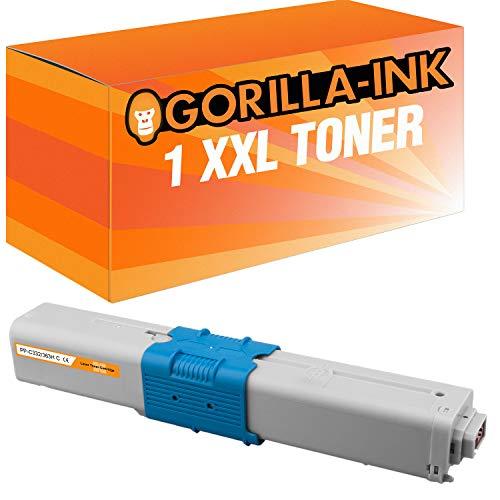 Gorilla Ink 1 Toner Cian XXL compatible OKI C 332