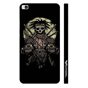 Huawei P8 Skull Warrior designer mobile hard shell case by Enthopia