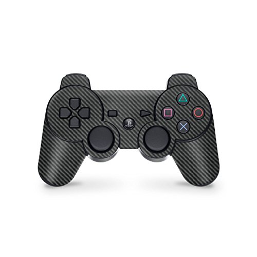 Sony Playstation 3- Lámina protectora adhesiva para mando de PS3, gris