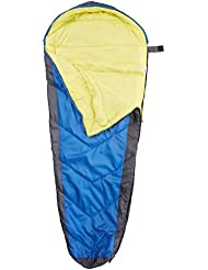 Black Crevice BCR3133 Summit - Saco de dormir infantil (165 x 70 x 5 cm), color azul