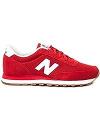 New Balance - New Balance 500 Sneaker Damm Rot - Rot, 45.5