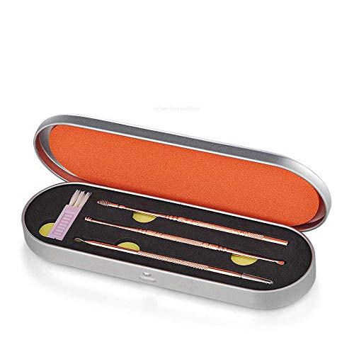 LJXooii Ear Pick, Ear Wax Remover Ohrenreiniger mit Aufbewahrungsbox und Reinigungsbürste