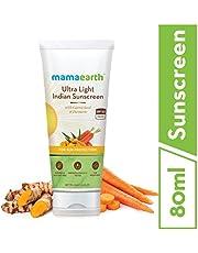 Mamaearths Ultra Light Natural Sunscreen Lotion SPF 50 PA F