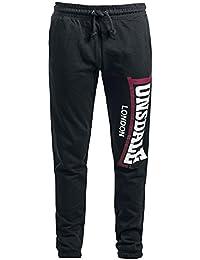 Lonsdale London Stockenchurch Pantalon Survêtement noir