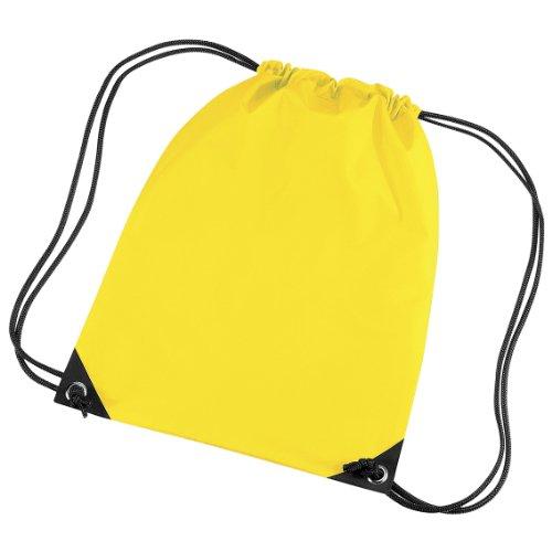 Bagbase Premium Turn Sack Wasser abweisend (11 Liter) Gelb